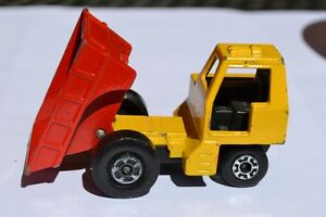 Matchbox-Lesney-Superfast-No-26-Red-Yellow-Site-Dumper
