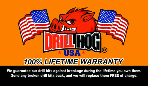Drill Hog® USA 37 Pc Cobalt Drill Bit Set Index OBB 1//16-1 Lifetime Warranty