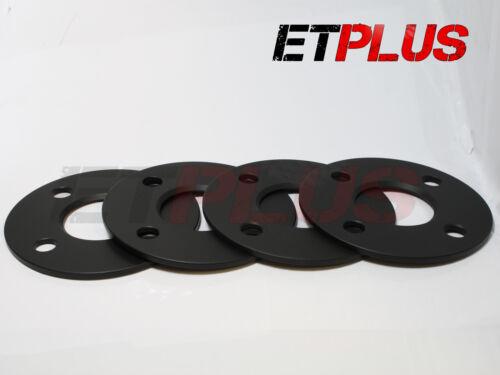 4 x 5mm Foro Lega Ruota Hubcentric Distanziatori si adatta a CITROEN DS3 DS4 DS5 65.1 4x108