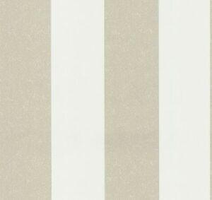 tapete vlies gestreift wei beige casual chic 13352 30 2 55 1qm ebay. Black Bedroom Furniture Sets. Home Design Ideas