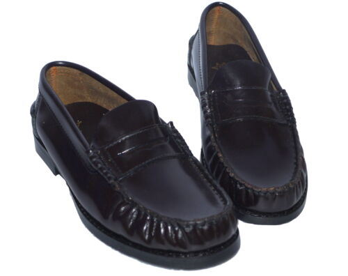 Marie Chantal Boys Brown Patent Leather Loafers Shoes NEW Various Sizes