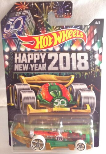 1:64 NEW Hot Wheels Holiday Hot Rods Complete Set of Six w//2018 Carbonator