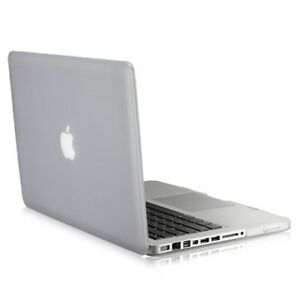 uk availability d4db8 cdd5a Details about NEW Rubberized CLEAR Hard Case Cover for Apple Macbook PRO  15