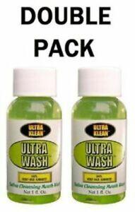 Ultra Mouth Wash Ultra Klean  x 2