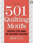 501 Quilting Motifs: Designs for Hand or Machine Quilting by Martingale & Company (Paperback, 2014)