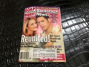 JUNE 9 1998 - SOAP OPERA DIGEST vintage soap opera magazine