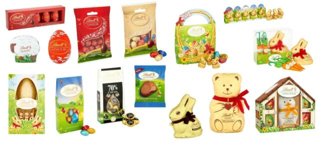 Lindt Lindor Assorted Solid Mini Easter Eggsbunnies Easter Special Gift