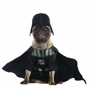 star wars darth vader pet dog halloween costume medium