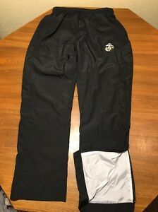 Sport Tek Mens S Sweat Pants Wind Running Track Lined Black Polyester Marines Ebay The relaxed styling and elastic drawcord waist ensure a comfortable fit. details about sport tek mens s sweat pants wind running track lined black polyester marines