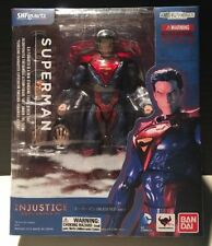 DC Injustice Gods Among Us SUPERMAN S.H.Figuarts Bandai Action Figure MIB