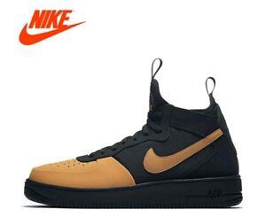 new styles b0d5f efeba Details about NEW Men s SZ 10, Nike Air Force 1 Ultraforce Mid Tech Black  Elemental AH6746-002