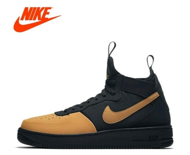 Nike Air Force 1 Ultraforce Mid Tech Men's Sz 10 Casual Shoes Ah6746 002