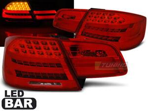 Coppia-di-Fari-Posteriori-LED-LTI-per-BMW-Serie-3-E92-2006-2010-Rosso-Bianco-IT
