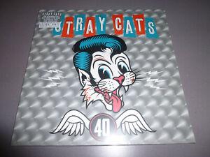 STRAY-CATS-40th-anniversary-LP-ltd-Silver-180g-Vinyl-NEU-amp-OVP-incl-DLC