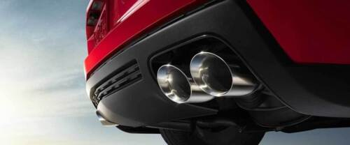"""Polished Double Wall Exhaust Tips 2.25/"""" Inlet 3.5/"""" Outlet 7/"""" Long S//S Weld-On"""