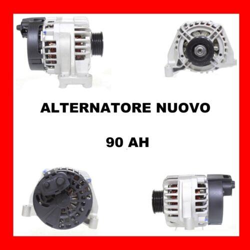 ALTERNATORE NUOVO 90AH FIAT BRAVO I 1.2 16V 80 DAL 2000 KW59 CV80 188A5.000