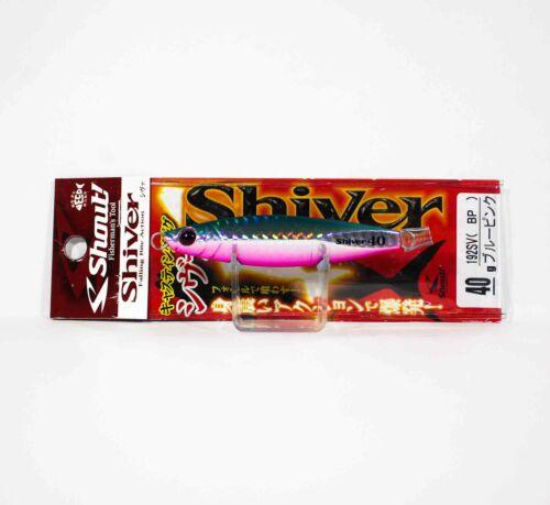 2587 Shout 192-SV Metal Jig Shiver 40 grams BP