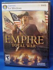 Empire Total War (PC-DVD) Game for Windows - Sega - Factory Sealed! New!