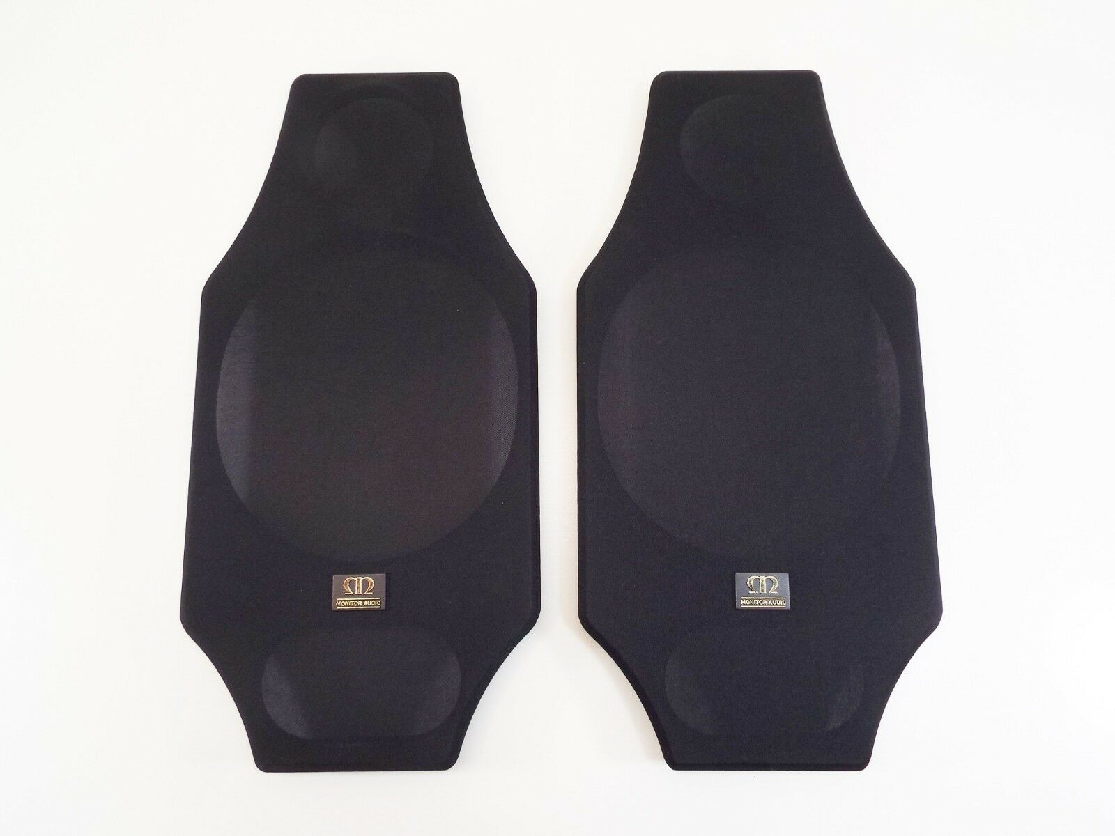 1 pr Monitor Audio Silber 4i Grille Covers - Used, but Great Condition