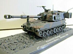 IXO-Die-cast-Model-1-72-Scale-Paladin-S-P-Howitzer-2nd-Infan-Div-Germany-1994
