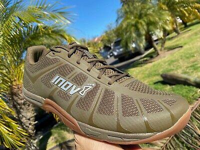 Inov8 Mens F-Lite 235v3 Training Gym Fitness Shoes Green Sports Breathable
