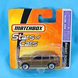 Matchbox Stars Of Cars Porsche Cayenne Light Met Brown Toy Model Car Ebay