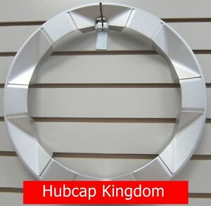 NEW-2004-2009-TOYOTA-PRIUS-Wheel-Beauty-Outer-TRIM-RING-Silver