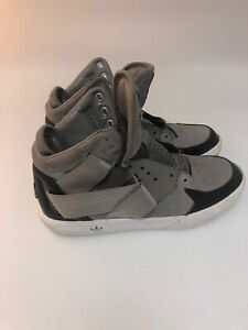 Black Gray High Tops   eBay