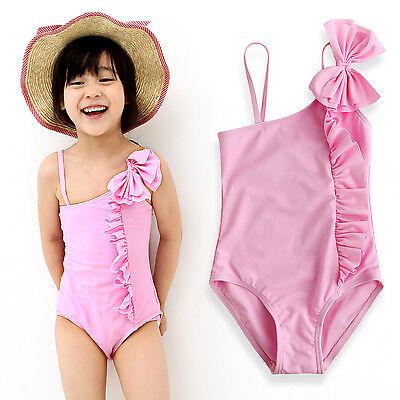 "VaenaitBaby Toddler Kids GirlsTankini Bikini bathing suit /""Aloha Pink/"" 12M-5T"