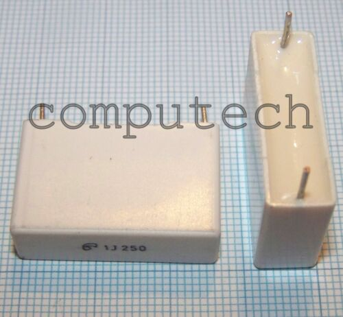1 pezzo Condensatore Poliestere 1uF x 250V 5/% Arcotronics