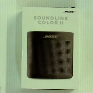Bose Soundlink Color Bluetooth Speaker Ii Soft Black Ebay
