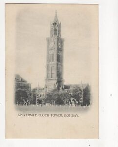 University Clock Tower Bombay India Vintage UB Postcard 229b - <span itemprop=availableAtOrFrom>Aberystwyth, United Kingdom</span> - I always try to provide a first class service to you, the customer. If you are not satisfied in any way, please let me know and the item can be returned for a full refund. Most purcha - Aberystwyth, United Kingdom