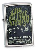 ROLLING STONES ZIPPO Rarität neu+ovp 1967 TOUR OF EUROPE