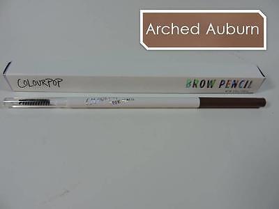 COLOURPOP Brow Pencil 'ARCHED AUBURN' Crayon & Brush | Soft Auburn 0.09g