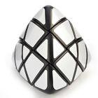 Lanlan 3x3x3 Mastermorphix Cube Black Silver Twist Puzzle Smooth Brain Toys Gift