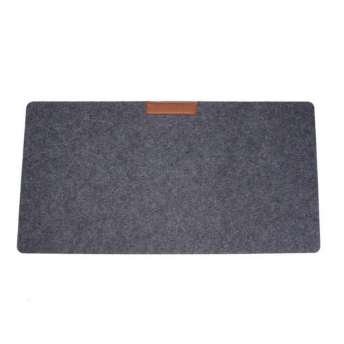 2mm Felt Desktop Mouse Pad Keyboard Game Laptop Table Mat A4 Files Cover L/&6