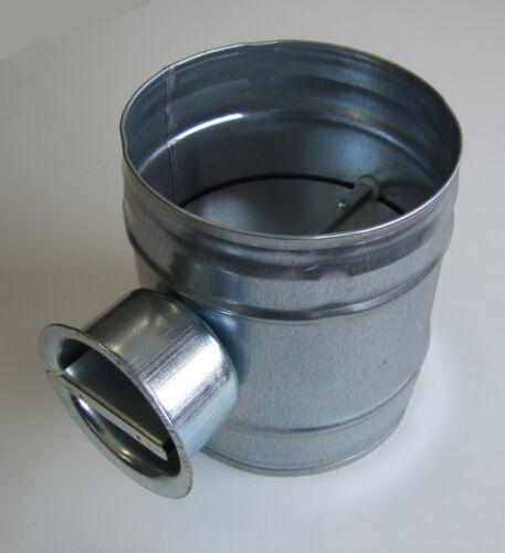 Volumenstromregler Drosselklappe Lüftung DAS NW 180 mm Wickelfalzrohr