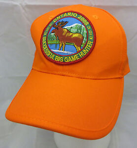e4074fe8deb28a Image is loading Ontario-Orange-Successful-Big-Game-Hunter-baseball-cap-