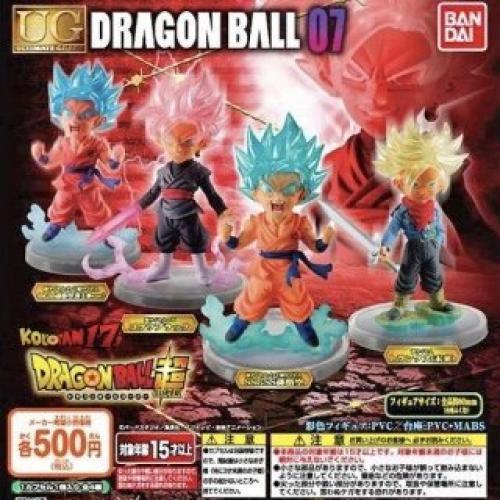 Dragon Ball Ultra UG Dragon Ball 07 [All 4 Types Set (Full Complete)]