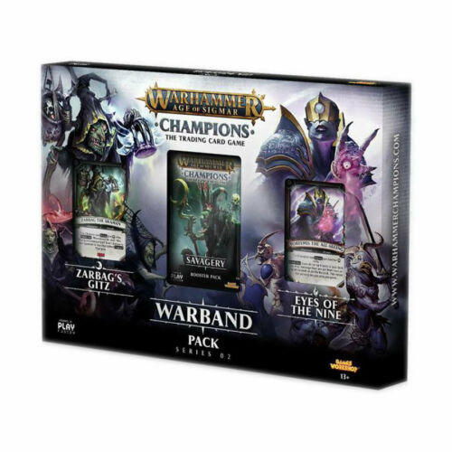 Warhammer Age of Sigmar Champions Warband Collectors Pack 2 BRAND NEW