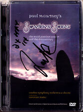 DVD Lawrence FOSTER Signiert PAUL McCARTNEY STANDING STONE Concert & Documentary
