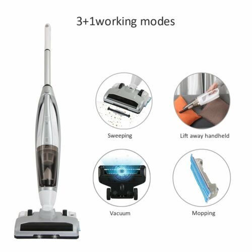 Cordless Vacuum Cleaner, EVERTOP 4 in 1 Bagless Stick Upright Vacuum Cleaner, Ha