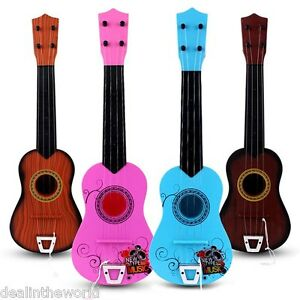 RENDA Paint Ukulele 23 Inch Educational childrens Toy Paint Simulation Design