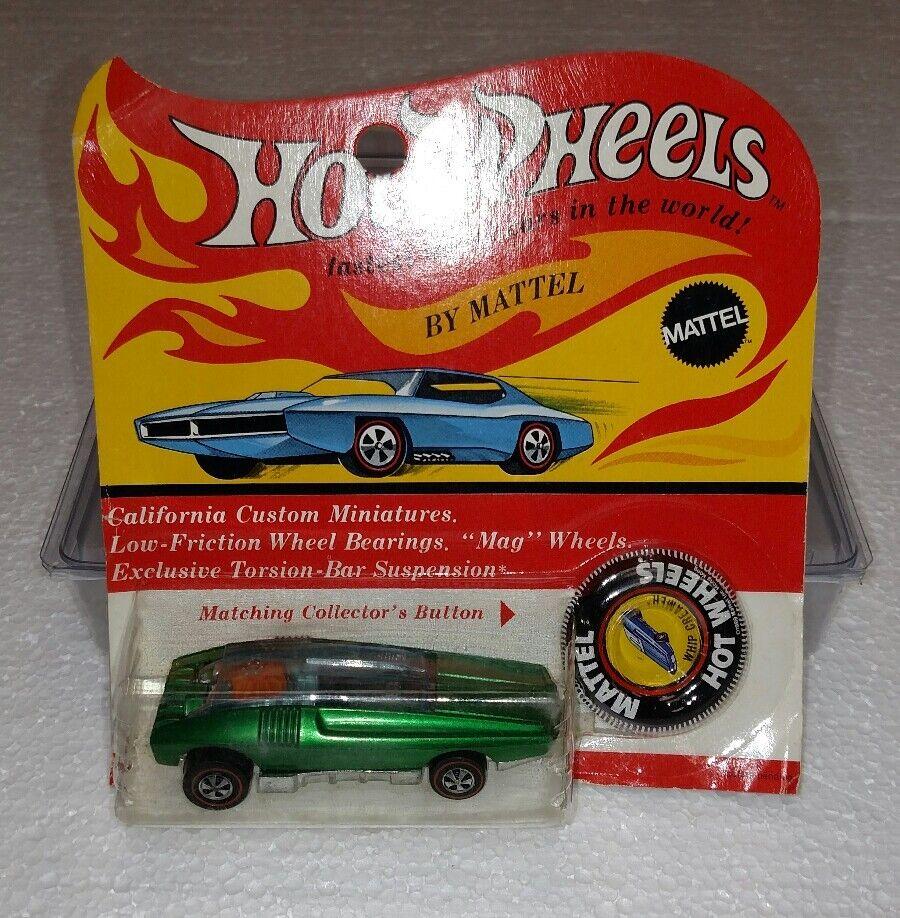 Hot Wheels Redline látigo Crema totalmente nuevo en tarjeta
