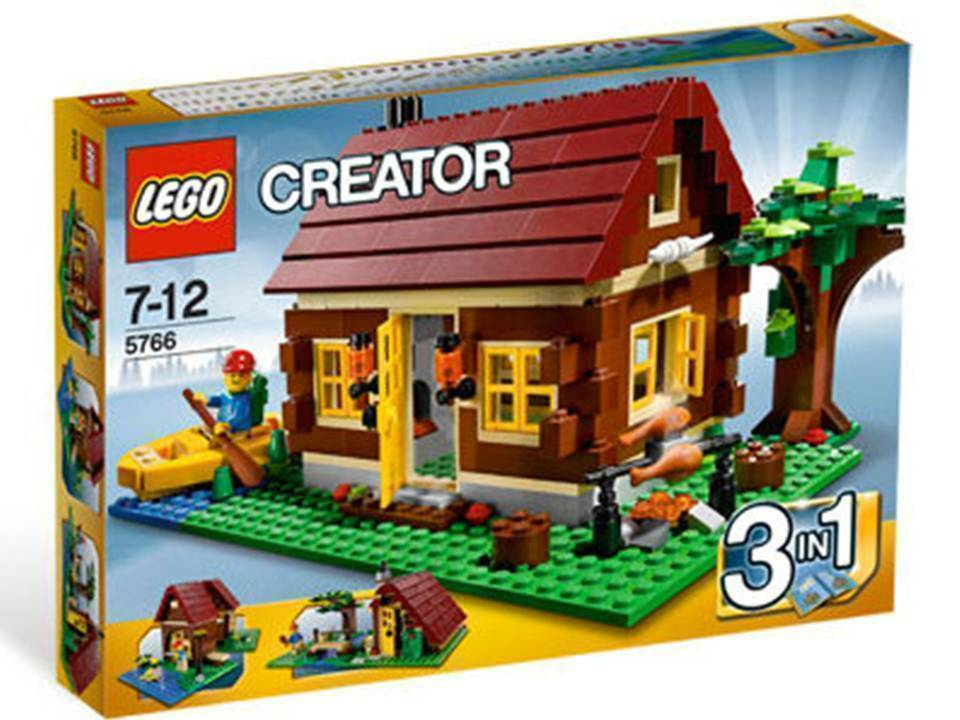 LEGO Creator Log Cabin 3 in 1 1 1 (5766), Brand new, unopened a81bbe