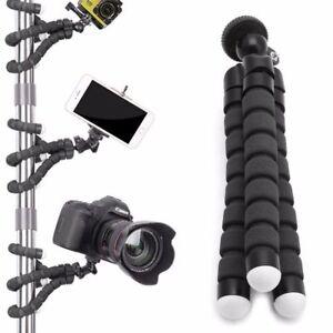 Flexible Tripod Stand Gorilla Monopod Mount Holder Octopus For GoPro Camera