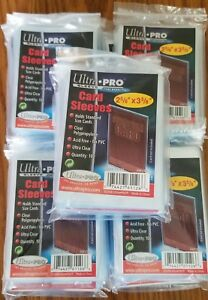2-500-2500-Ultra-Pro-Sports-Card-Soft-Penny-Sleeves-FREE-SHIPPING-81126