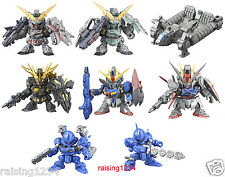 BANDAI SD Mobile Suit Gundam Next SP 04 Gashapon Figure (Set 8 pcs) Unicorn
