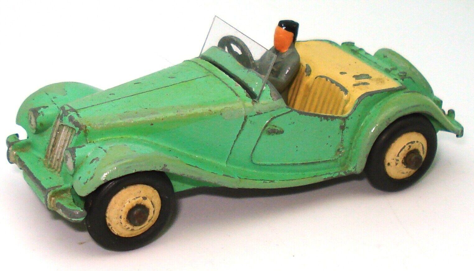 DINKY NO. 102 MG TF MIDGET -  GREEN  V
