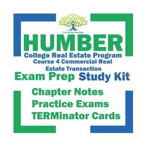 Humber Real Estate Course 4 Commercial Textbooks Kit Ontario Preview